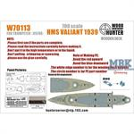 700 SCALE HMS VALIANT 1939 (FOR TRUMPETER 05796)