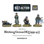 Bolt Action: Blitzkrieg German HQ (1939-42)