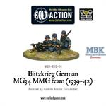 Bolt Action: Blitzkrieg German MG 34  (1939-42)