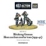 Bolt Action: Blitzkrieg German 81mm Mortar