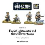 Bolt Action: Finnish light mortar and flamethrower