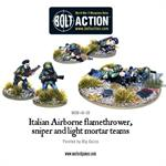 Bolt Action: Italian Airborne support weapons