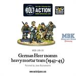 Bolt Action: German Heer 12cm mortar (1943-44)