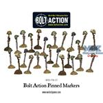Bolt Action: Pinned Markers x 25