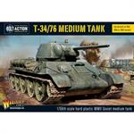 Bolt Action: T34/76 medium tank