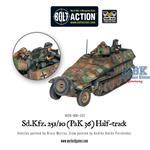 Bolt Action: Sd.Kfz 251/10 Ausf C (3.7cm PaK)
