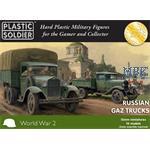 Russian GAZ Trucks  15mm