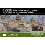 British Valentine Tank 15mm