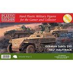 """Sd.Kfz. 250 """"Neu"""" - 3 Stück + 24 Figuren"""