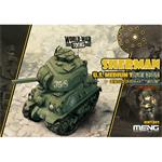 World War Toons U.S. Medium Tank M4A1 Sherman