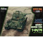 World War Toons SOVIET MEDIUM TANK T-34/76