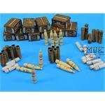 """BRITISH 4.5"""" GUN Ammunition set"""