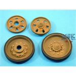 CHALLENGER-2 Wheels/Idlers (Plain dish) For Trumpe