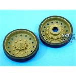 CHALLENGER-2 Wheels (Perforated) for Trumpeter/Tam