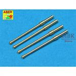 Set of 4 barrels Japanese 20mm Type 99 cannons