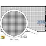 Net 1,0 x 1,0 mm