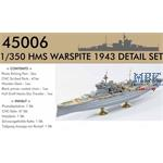 HMS Warspite DETAIL SET