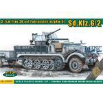 3,7cm Flak36 auf mZgKrw.5t Sd.Kfz.6/2