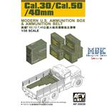 Cal.30/Cal.50/40mm Modern U.S. Ammu. Box & Belt