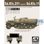 Sd.Kfz. 251 early Model Tracks