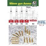 90mm Gun Ammumition for M26, M36, M46