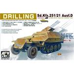 Sd.Kfz. 251/21 Ausf.D - Drilling