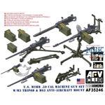 U.S. M2HB .50 Cal Machine Gun Set