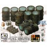 German Fuel Drums (200 & 20l)