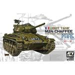 M24 Chaffee Light Tank Indochina War French Army