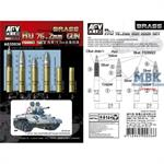 Ru 76,2mm Gun Brass Ammo Set