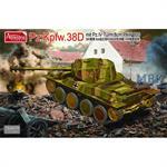 Panzer 38D mit Pz.IV Turm und 8cm PAW600