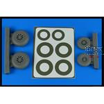 A-26B / C Invader Wheel Set - late - ICM