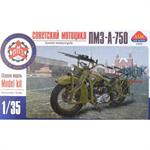 sov. WWII PZM-750 motorcycle