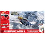 Me262 & P-51D Mustang Dogfight Double 1/72