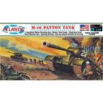 M-46 Patton Tank (1:48) + Figuren
