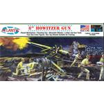"8"" Howitzer Gun Plastic Model kit 1/48"