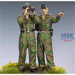 Waffen SS Panzer Offcers in Kursk Set   2 Fig.