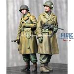WW2 US Infantry Winter Set - 2 figs 1/35