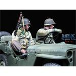 WW2 Jeep Crew  Set - 2 figs 1/35