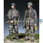 MG Team 12. Waffen SS Div. HJ - 2 figs 1/35