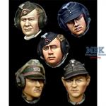 German Panzer Crew Head Set #1