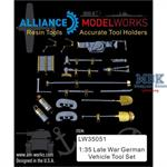 German vehicle tools and tool holders (Resin tools