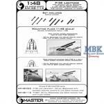 P-38 Lightning - early armament 1:48