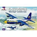 "C-130 ""Hercules"" + F-4J ""Blue Angels"" (1:144)"