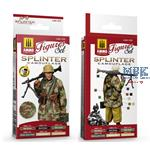 SPLINTER CAMOUFLAGE SET FOR FIGURES