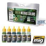 Green Mecha Color set