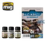 SPACESHIP SCI-FI WEATHERING SET