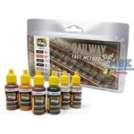 RAILWAY FAST METHOD PAINT SET