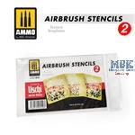 AIRBRUSH STENCILS TEXTURE TEMPLATES 2