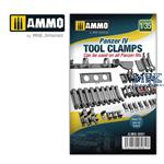 Panzer IV tool clamps 1:35